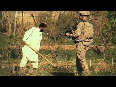 WARDAK SOLDIERS. FOOT PATROL 2. AFGHANISTAN WAR FULL FILM