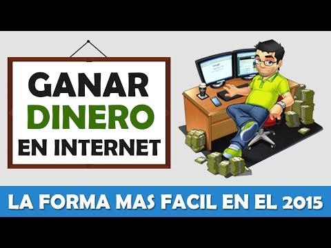 COMO GANAR DINERO EN INTERNET, CUALQUIER PAIS, LA FORMA MAS FACIL 2015