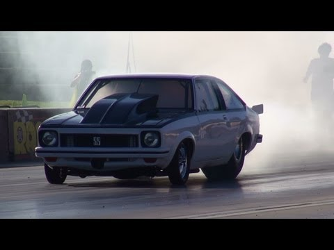 PROA9X DANDY ENGINES PROCHARGED TORANA HATCHBACK 7.26 @ 189 MPH APSA SHOOTOUT SYDNEY DRAGWAY