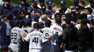 Tensions Erupt In Brawl Between Padres And Rockies