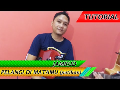 download lagu Cara Bermain Gitar Petikan JAMRUD PELANGI DI MATAMU  Slow Tempo gratis