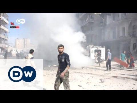 Government airstrikes in Aleppo | Journal