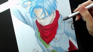 Speed Drawing - Trunks (Dragon Ball Super)