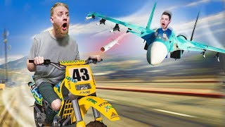 Jets vs. Humans! | GTA5 [Ep 27]