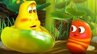 LARVA - LITTLE LARVA | Cartoon Movie | Cartoons For Kids | WildBrain Happy Places