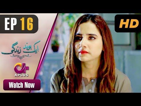 Aik bond Zindagi - Episode 16 | Aplus Dramas | Sania Shamshad, Kamran Jilani | Pakistani Drama thumbnail