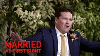 Horror best man's speech leaves bride's family fuming | MAFS 2019