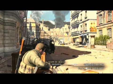 Sniper Elite V2 Demo Gameplay [Español HD]