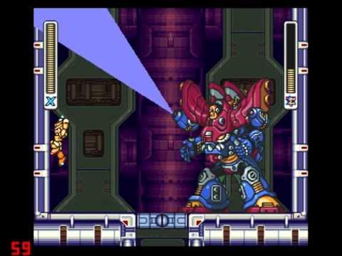 Megaman X 1/2/3/4/5/8 Final Battles Part 3