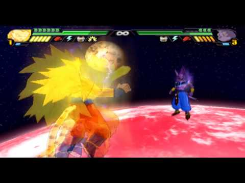 Goku Ssj5 Dorado Vs Bills El Dios De La Destrucción video