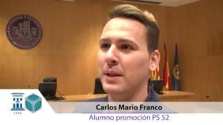 """Clausura promoción curso 52 enero 2016 """"Curso Superior de Perito de Seguro de Automóviles"""""""
