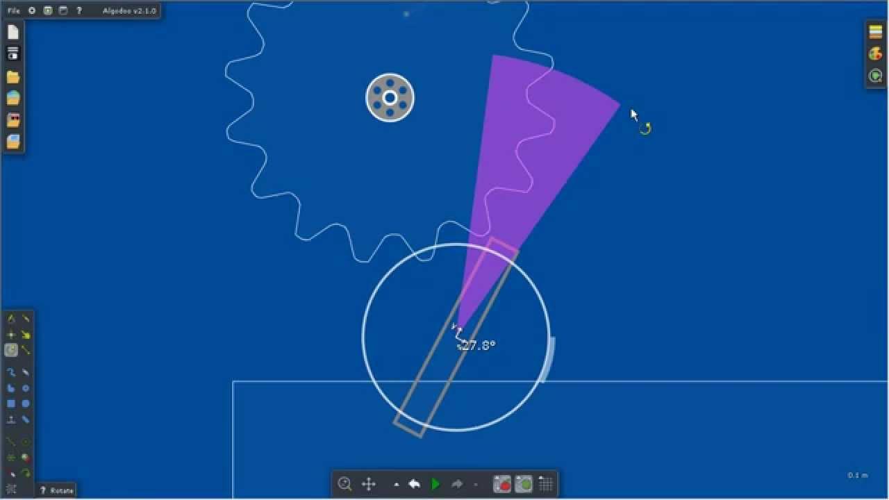 Algodoo. Обзор игры и первая постройка. - YouTube