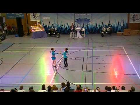Antonia Schmid & Julian Minks - Nordbayerische Meisterschaft 2012