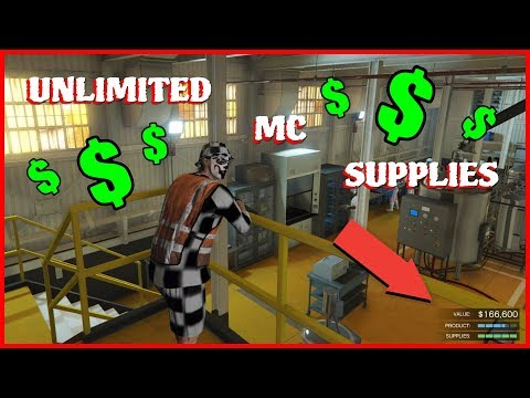 GTA 5 Online Money Glitch (UNLIMITED MC Business Supplies) PS4/XBOX1/PC | WORKING AFTER PATCH 1.42