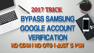 Bypass Google account verification | FRP -Samsung, Any Android Device | Just Another Method