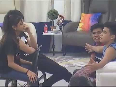 Bailey and Ylona in staring game