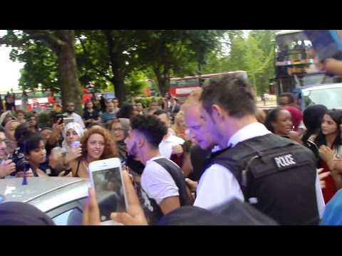 POLICE CAME TO OUR LONDON MEET & GREET!