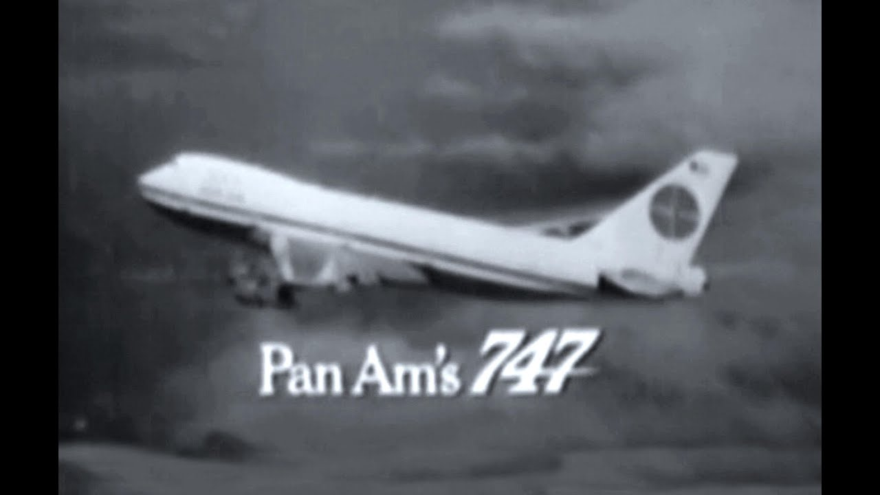 Pan Am Boeing 747 Commercial 1969 Youtube