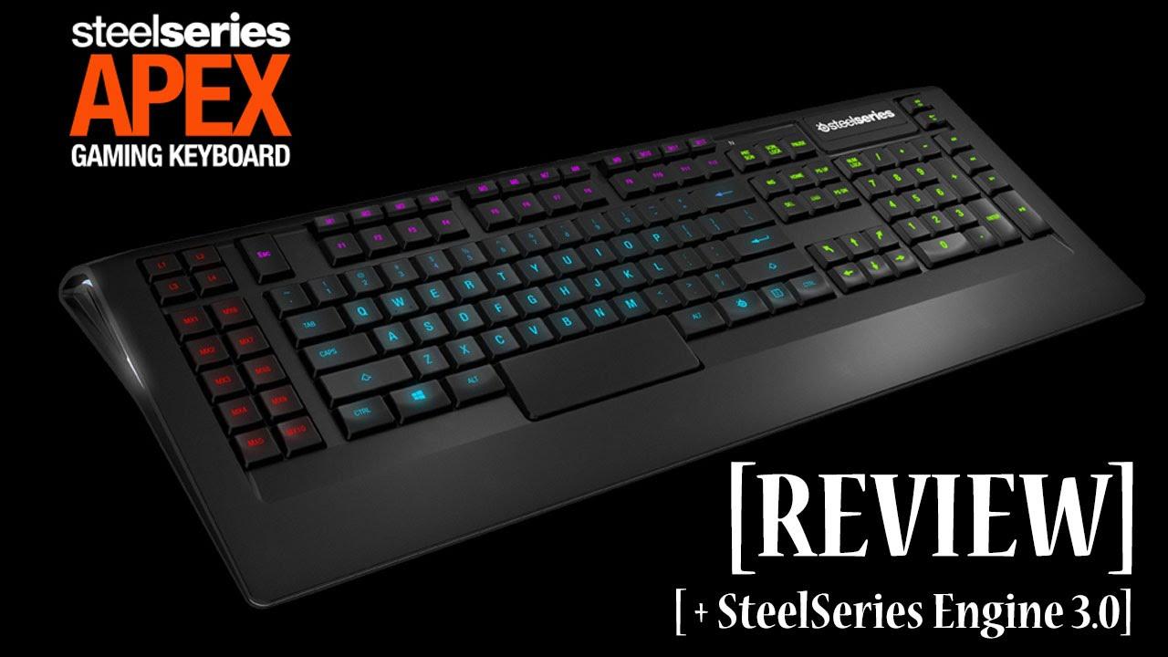 Steelseries Apex Gaming Keyboard Steelseries Apex Gaming