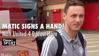 download lagu Matic Signs Cheekysport Dave's Hand  Lukaku Given A gratis