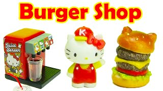 Hello Kitty Burger Shop Rement Collectibles