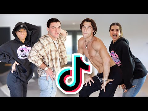 Learning Tik Tok Dances From Larray & Addison Rae