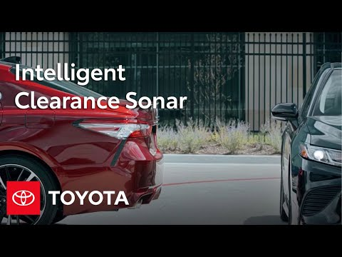 Toyota Camry How-To: Intelligent Clearance Sonar with Rear Cross - Traffic Braking | Toyota
