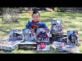 BIGGEST Justice League Toy Hunt Ever!! Superhero Toys Unboxing With Ckn