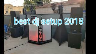 Best dj setup Gig log #21 and big DJ setup little place.if you subscribe I will do it back.thanks