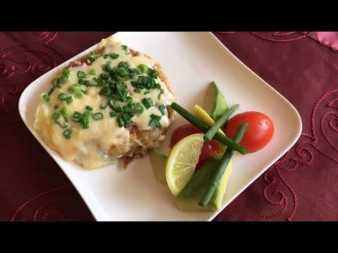 Kartoshka va tuxumli zakuska/ Закуска из картошки и яиц