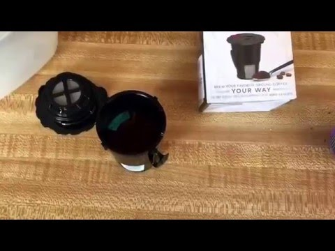 OFFICIAL Keurig 2.0 My K-Cup Reusable Coffee Filter Review (Official Refillable keurig 2.0 review).