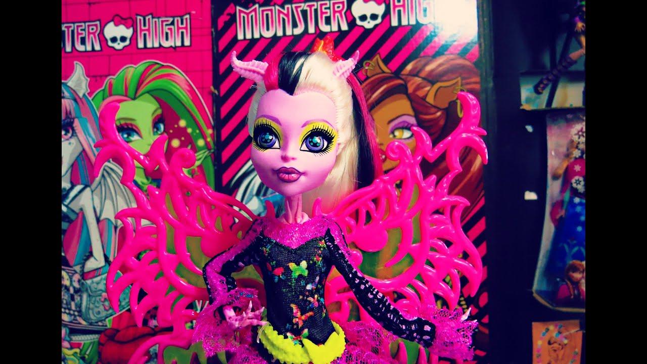 Monster high freaky fusion bonita femur doll review youtube - Monster high bonita ...