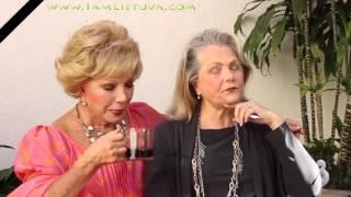 Interview with Ruta Lee and Ann Jillian hollywood, ca www.iamlietuva.com