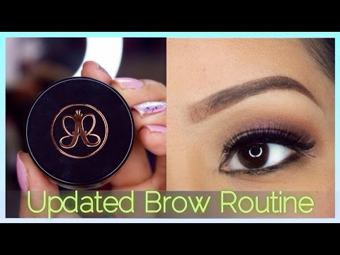 Updated Brow Routine Feat. Anastasia Dipbrow