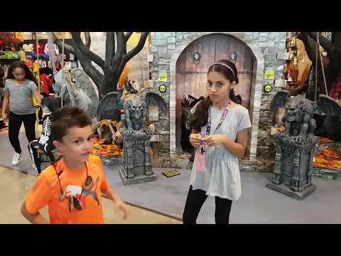 2016 Spirit Halloween Store Tour   Costumes And Scary Decorations!!!