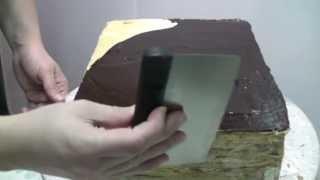 подготовка торта под обтяжку