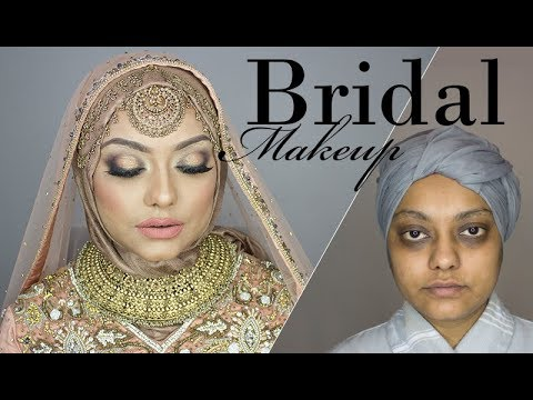 Bridal Makeover for Hyper Pigmented Skin | Sadia Sohil thumbnail