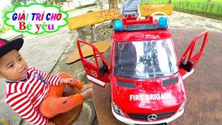 Bé Ben Chơi Xe Cứu Hỏa ❤ Fire truck games❤ Giải trí cho Bé yêu