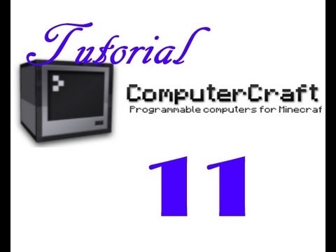 Minecraft / Computercraft Tutorial #11 - erweiterter Tunnelbohrer / Mining Turtle