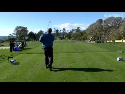 Retief Goosen shot an 8-under 64 and has the lead going into the weekend at the 2009 AT&T Pebble Beach National Pro-Am. For more PGA TOUR highlights, visit P...