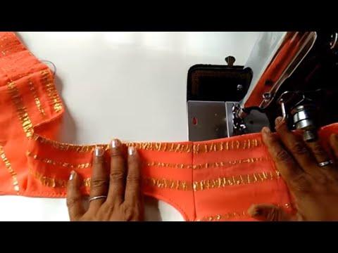 Easy Design Astar Blouse Cutting and Stitching // Back and Front Blouse Design //Lining Blouse