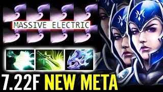Cancer LUNA with Mjolnir & Moon Shard Dota 2 7.22f New Meta Luna Gameplay