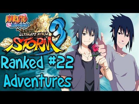 Naruto Ultimate Ninja Storm 3: Ranked Adventures   Episode 22 - Sasuke Fanboy