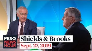 Shields and Brooks on the politics of impeachment