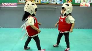 Cutest Karate Kids Taekwondo Fight Ever - Martial Artist Battle