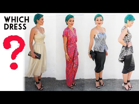 Choose My Dress For The Streamy Awards
