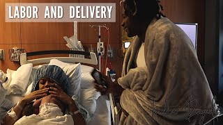 LABOR & DELIVERY | Did Daddy Pass Out?