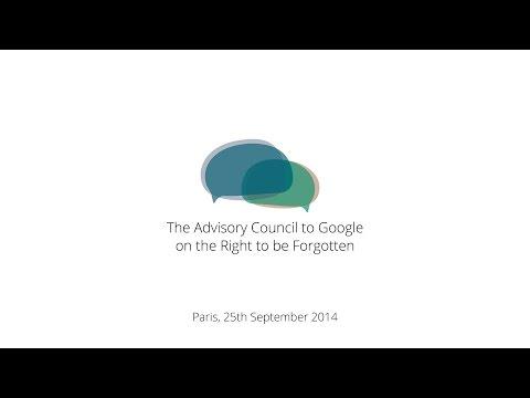 Advisory Council Meeting, 25 September 2014, Paris