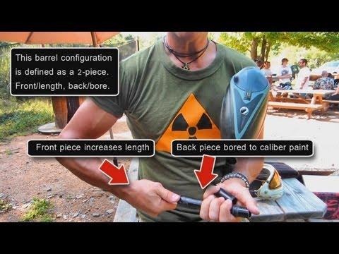 How to choose a paintball gun barrel