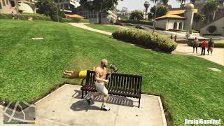 Gta 5 Fails Moments Gta V Compilation Walk With Michael Funny Fail